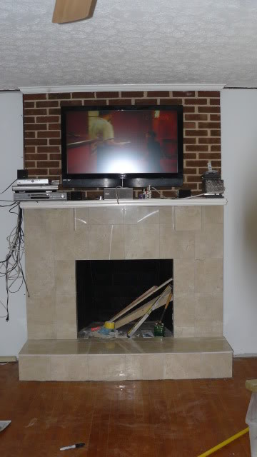 dave's fireplace project