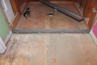 Laticrete linear drain