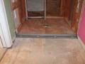 Laticrete linear drain placement