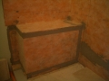 Kerdi waterproofed shower bench6355