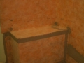 Kerdi waterproofed shower bench6356