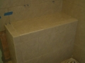 Kerdi waterproofed shower bench6371