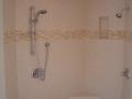 Triangular corner shower bench5737
