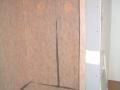 Kerdi waterproofed shower bench5823