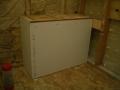 Rectangular shower bench frame6352