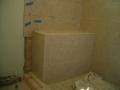 Kerdi waterproofed shower bench6372