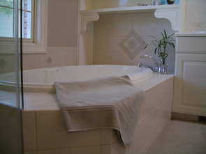 Ceramic Master Bathroom tile installation in Fort Collins