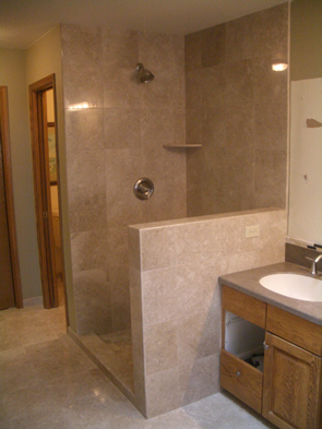 Marble tile installation contractor in Fort Collins, Colorado