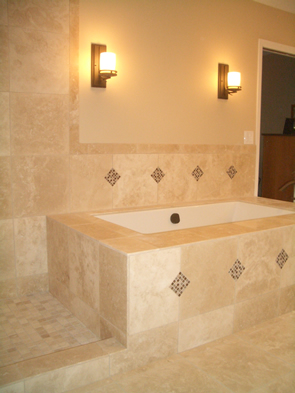 Natural stone and glass tile installation contractor Fort Collins, Colorado