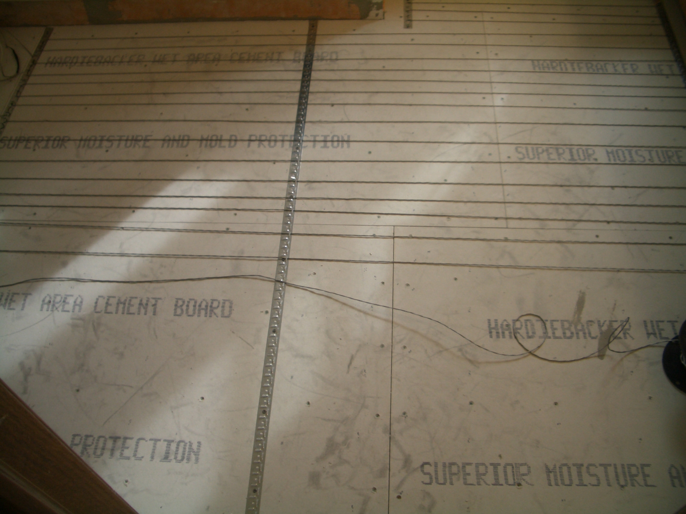 How To Install Suntouch WarmWire InFloor Heating Part - Heating element for tile floor