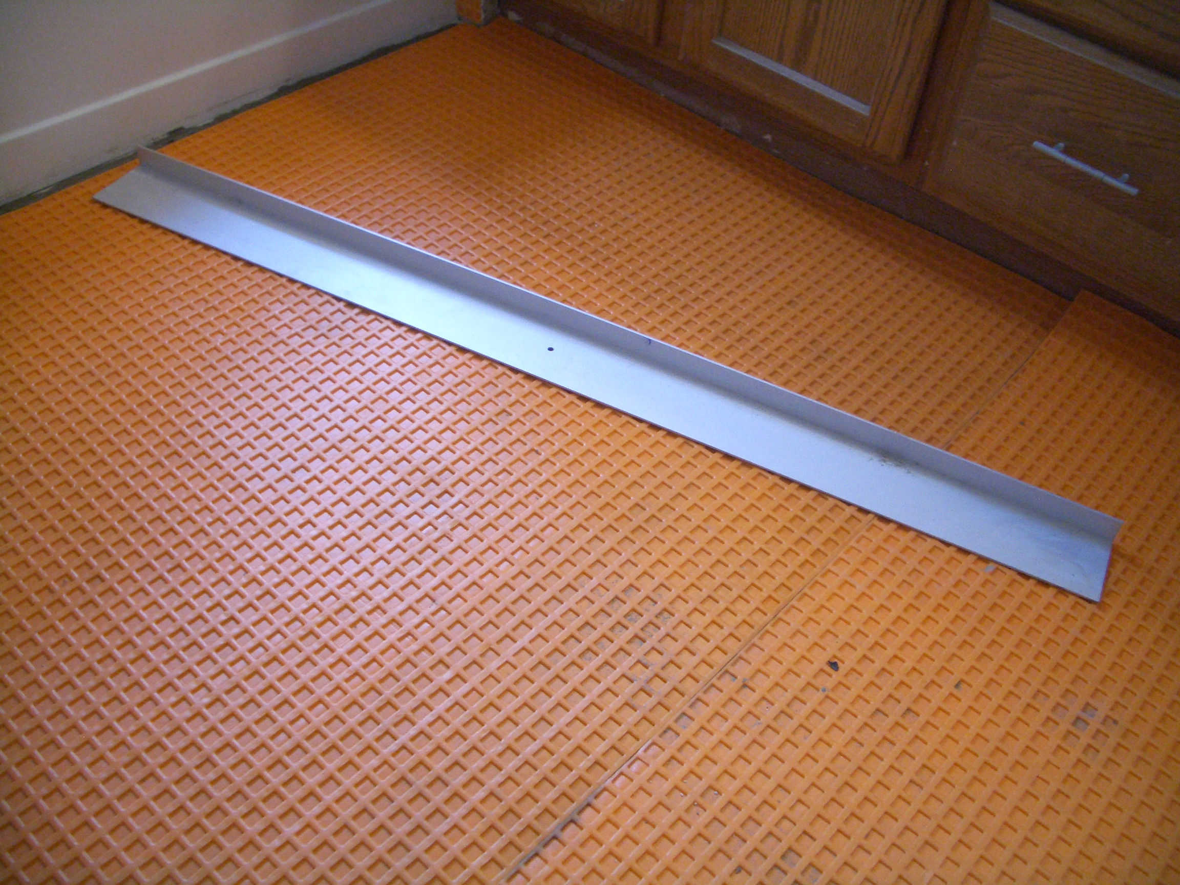 How Install Suntouch Warmwire Floor Heating Part