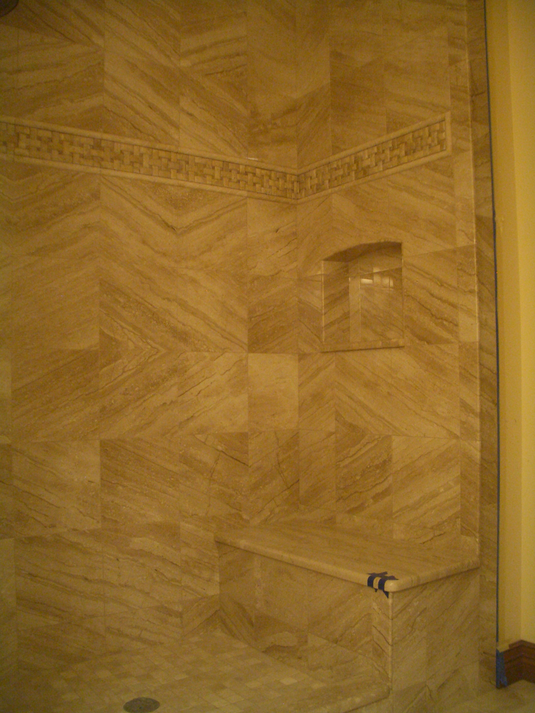 How To Build A Niche For Your Shower Part 4