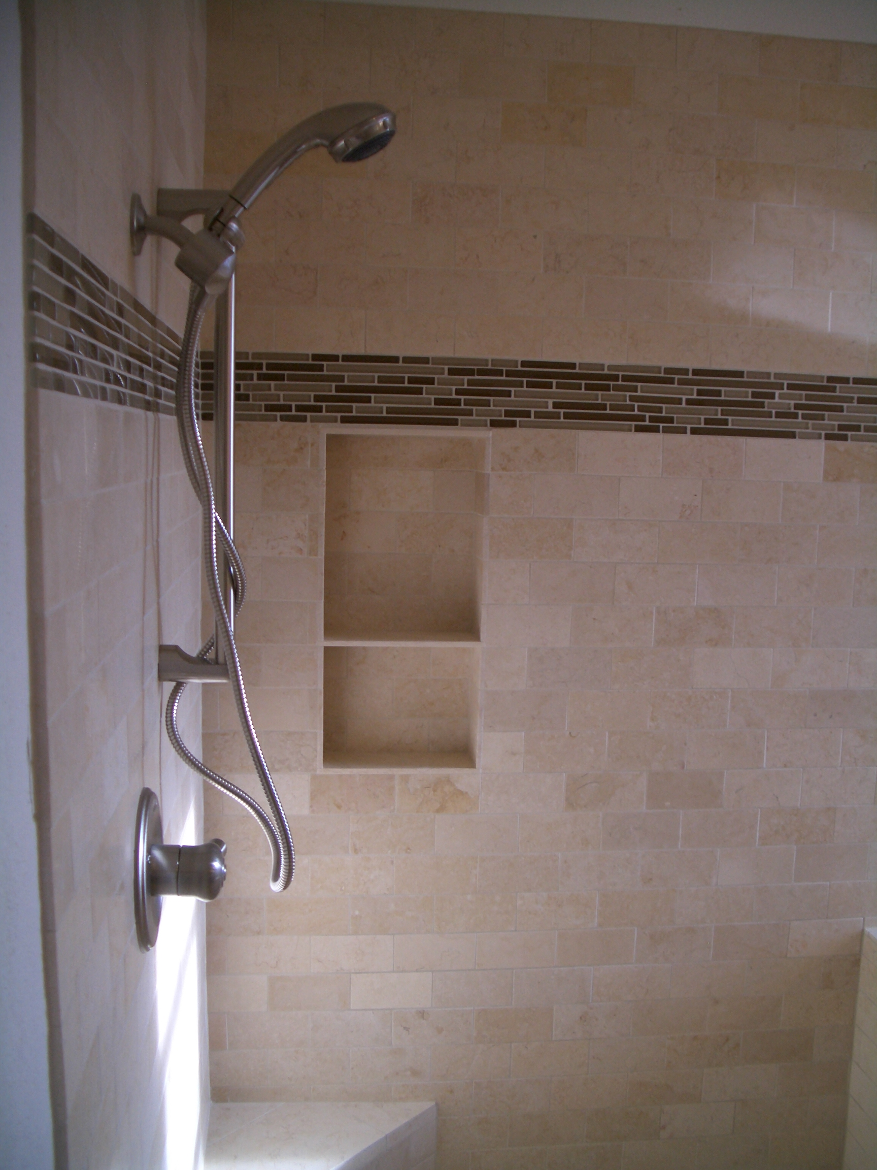 Bathroom Surround Ideas How To Build A Niche For Your Shower Part 4