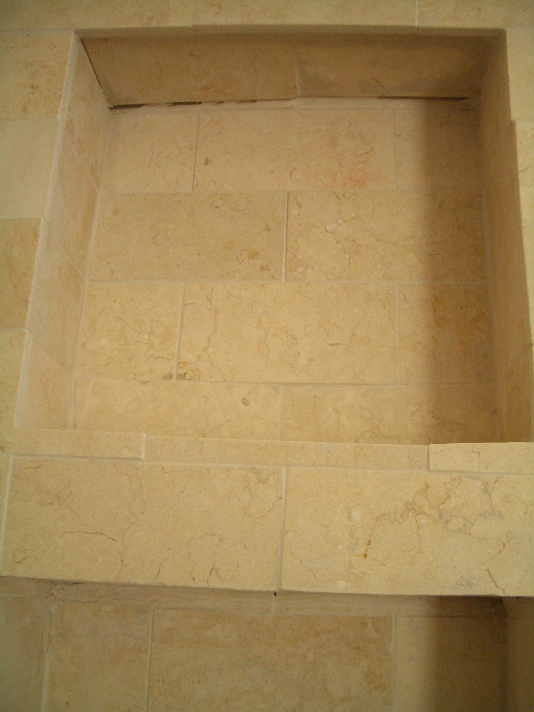 How to build a niche for your shower part 1 incorrectly tiled shower niche dailygadgetfo Choice Image