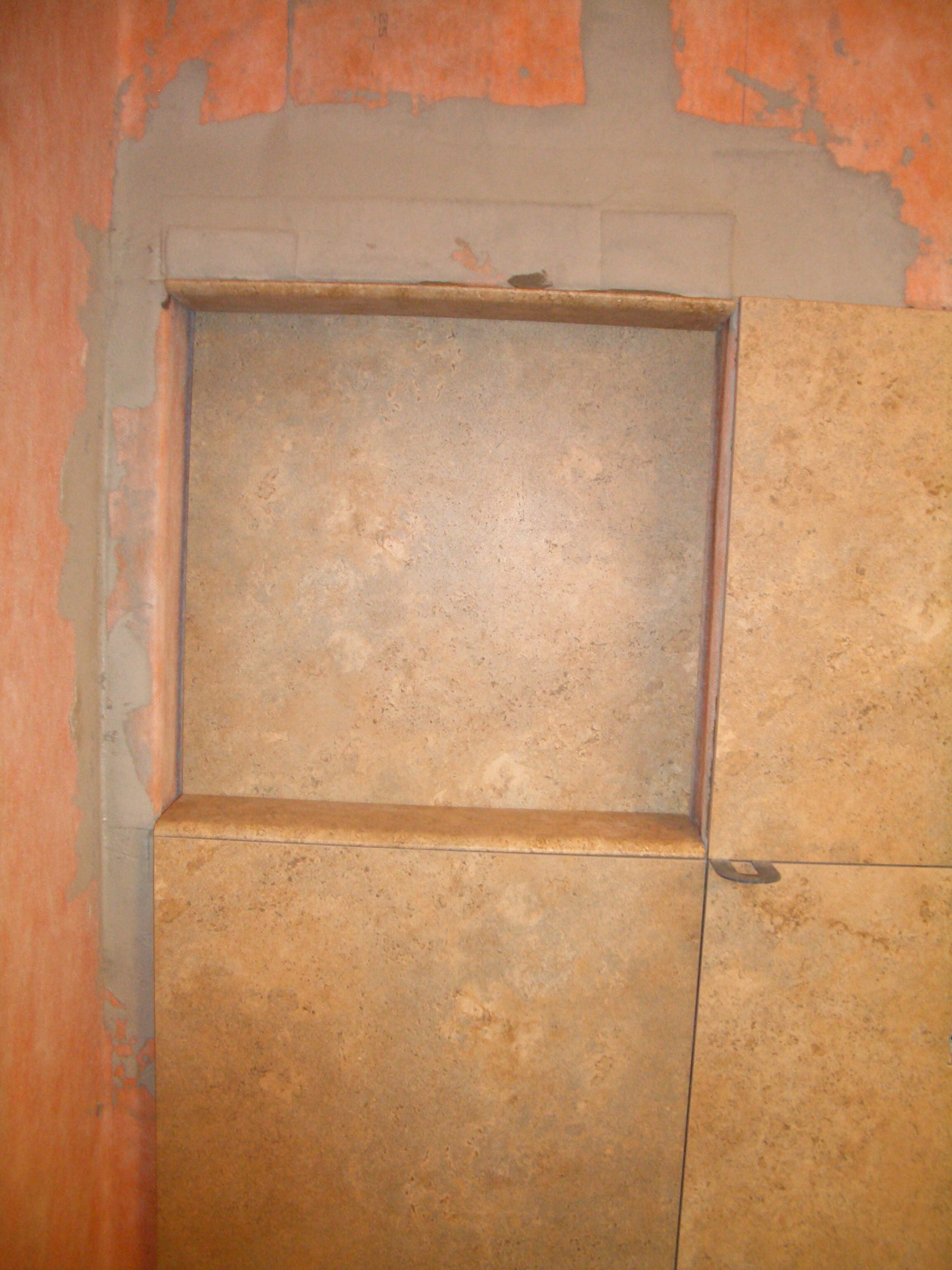 How to Build a Niche for your Shower – Part 3