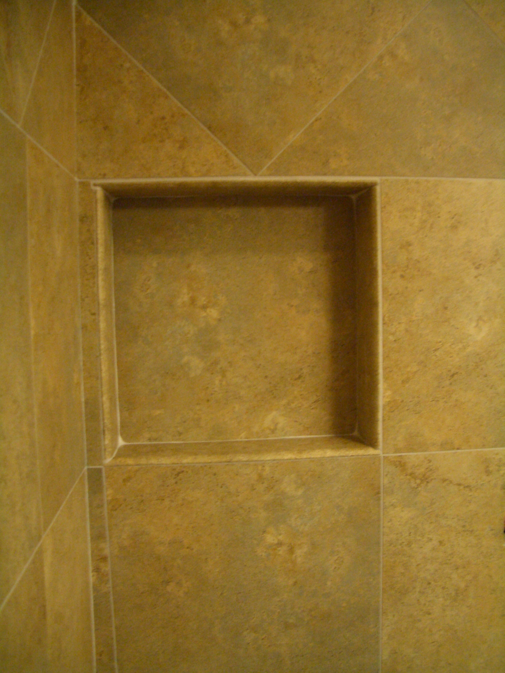 How to build a niche for your shower part 1 How to tile a shower