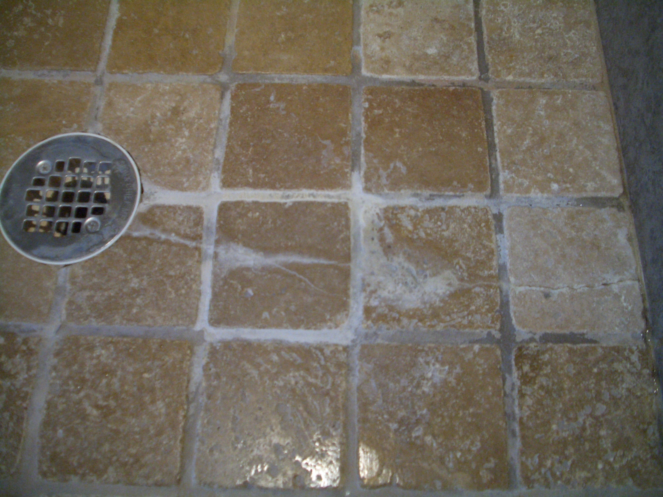 Flawed tile work yup just substandard tile no reason to see whats under it dailygadgetfo Choice Image