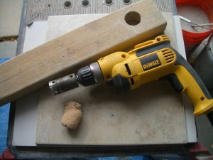 Tools needed to drill a hole in tile