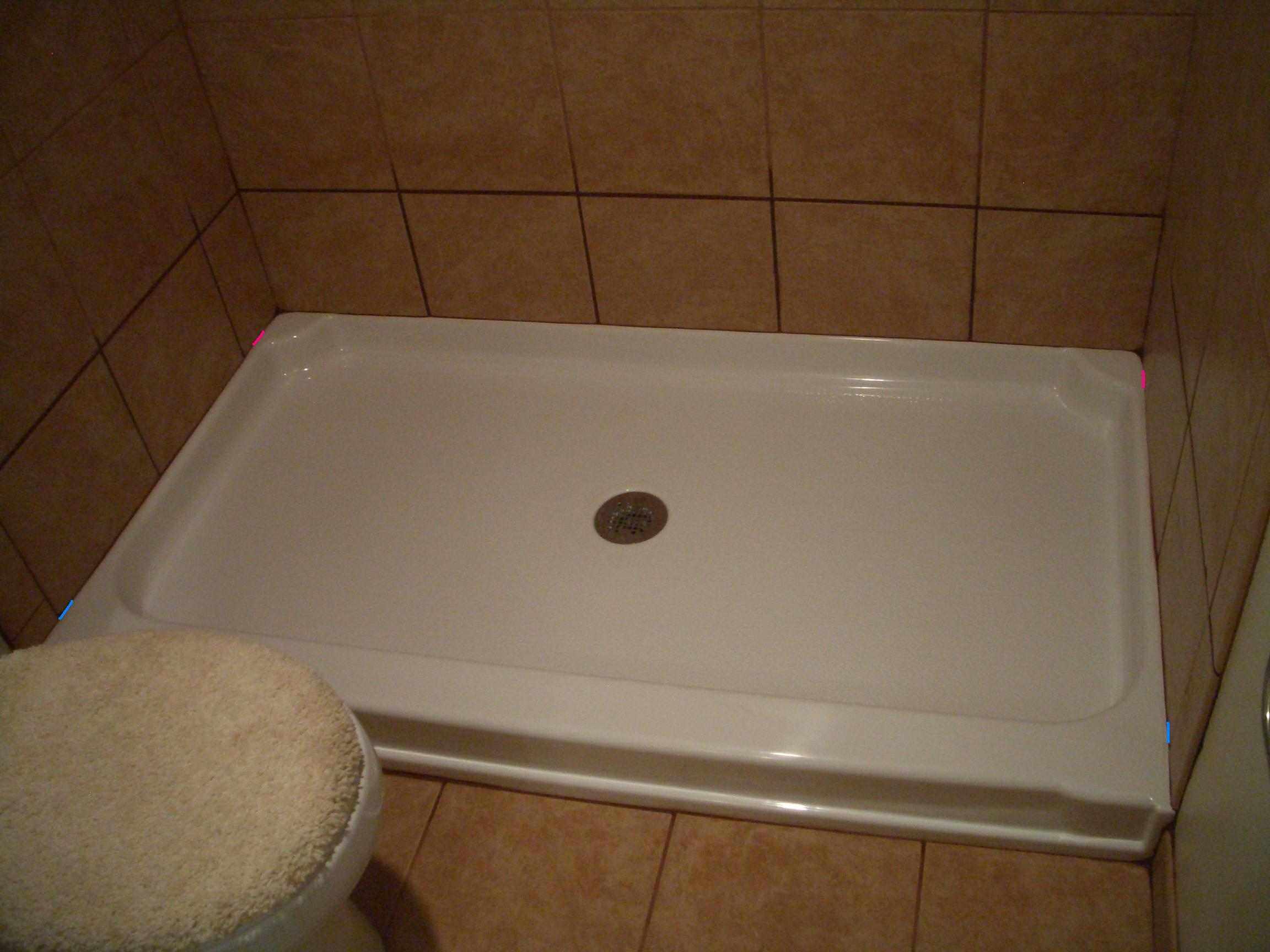 Location of weep holes in tile installations weep hole location in for a shower basin dailygadgetfo Choice Image