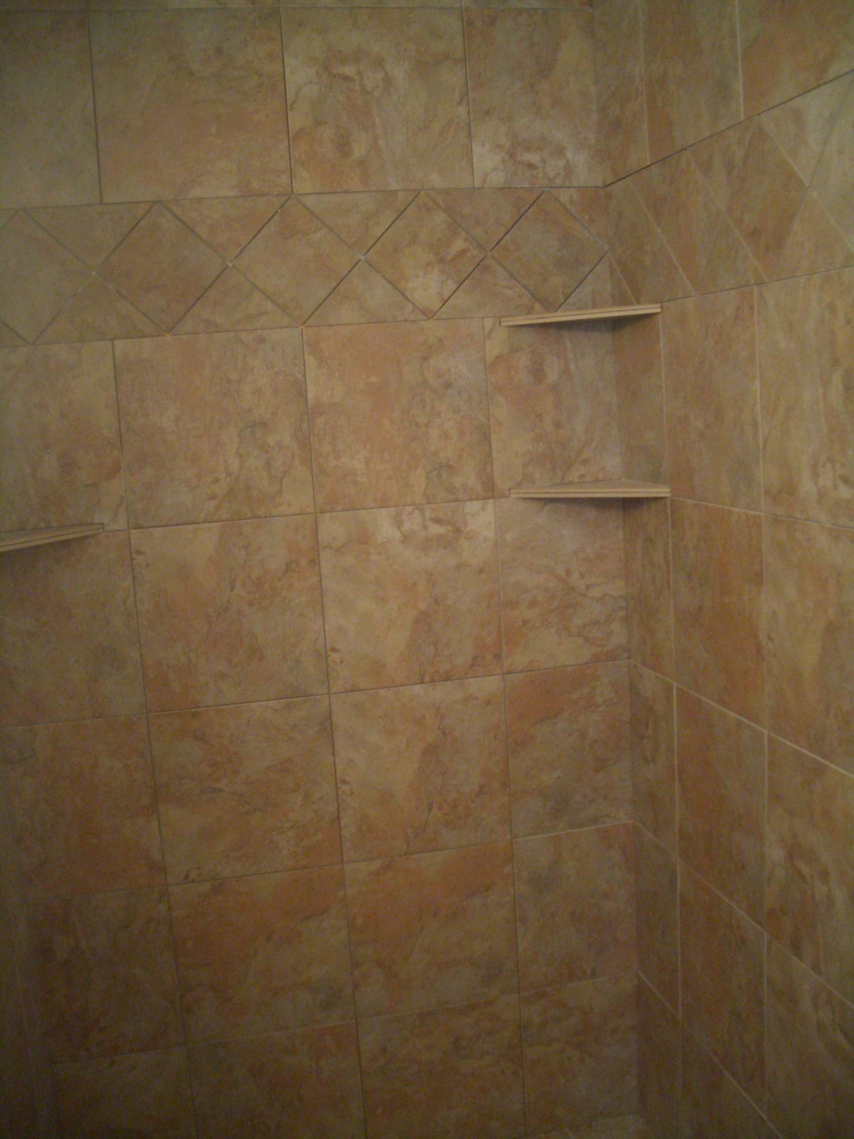 How To Build A Shower Shelf