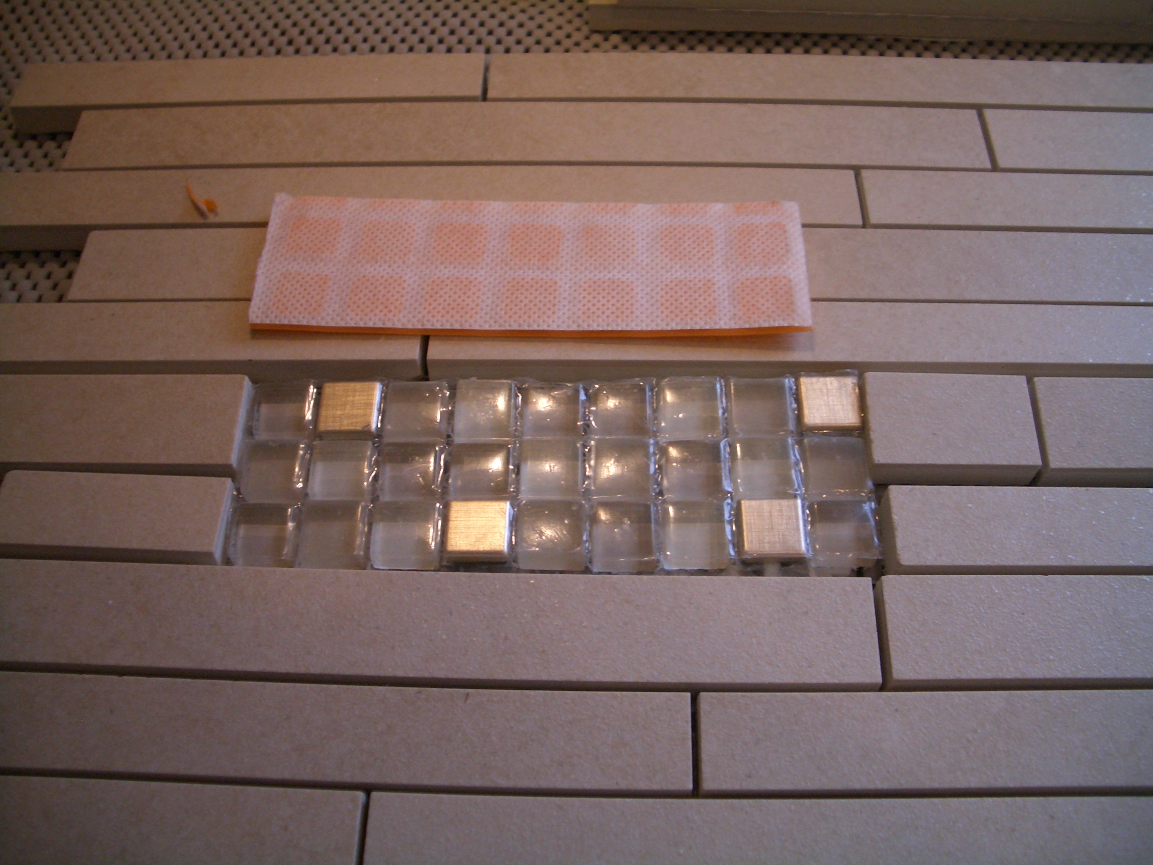 Setting Different Thicknesses Of Tile For Inserts