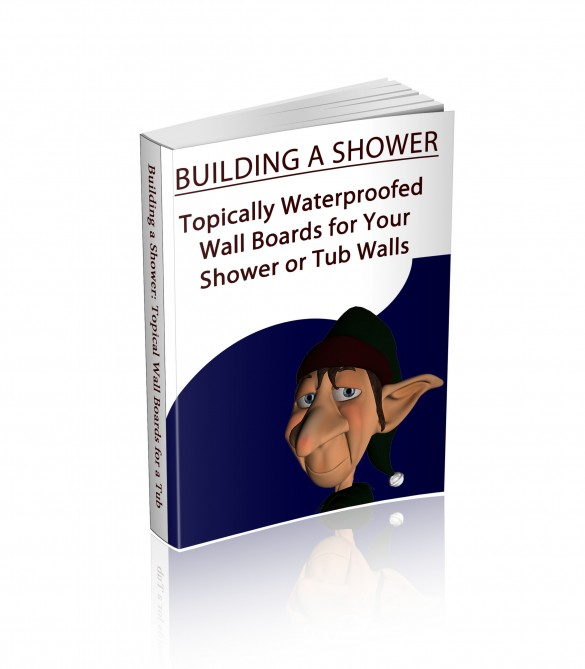 Topically faces wall substrates for your tub or shower walls