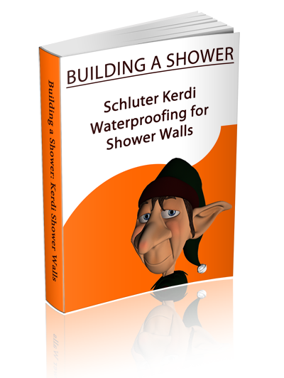 Kerdi Waterproofing for Tub Walls and Showers