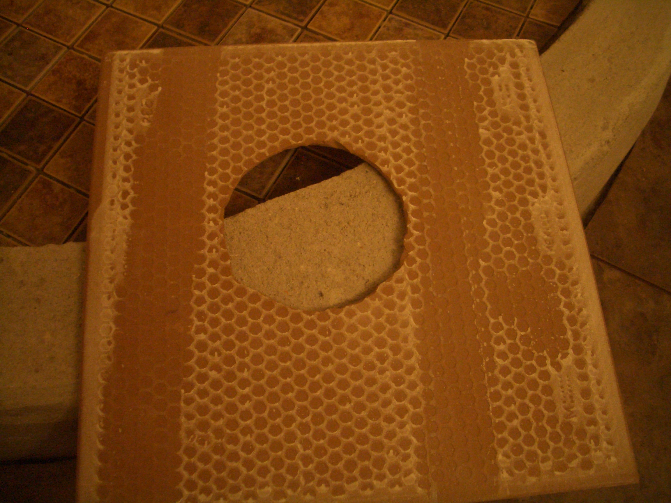 Waterproofing cutout holes for fixtures in shower wall tile back of tile with holes cut out dailygadgetfo Images