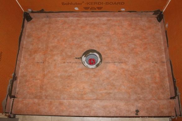 Drain Cutout For Your Kerdi Membrane